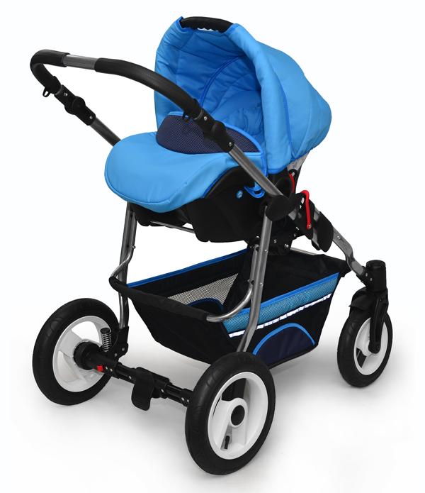 Baby Pram Pushchair Buggy Stroller And Travel System Car